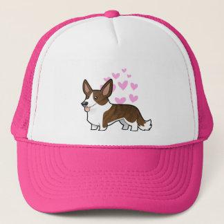 Cardigan Welsh Corgi Love Trucker Hat