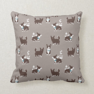 cardigan welsh corgi peduncle cushion