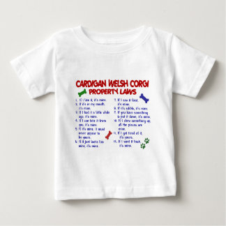 CARDIGAN WELSH CORGI Property Laws 2 Baby T-Shirt