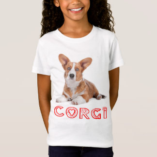 Cardigan Welsh Corgi Puppy Dog Red Love T-Shirt