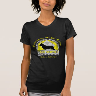Cardigan Welsh Corgi Taxi Service T-shirts