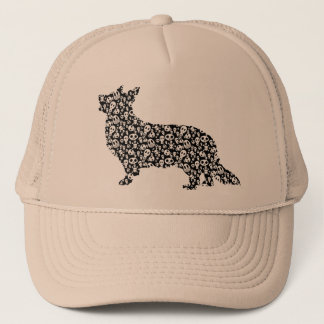 Cardigan Welsh Corgi Trucker Hat