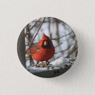 Cardinal 3 Cm Round Badge