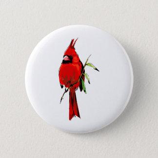 Cardinal 6 Cm Round Badge