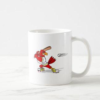 Cardinal Baseball Player Coffee Mug