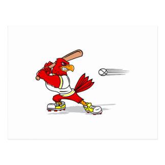 Cardinal Baseball Player Postcard