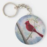 cardinal basic round button key ring