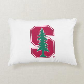 "Cardinal Block ""S"" with Tree Decorative Cushion"