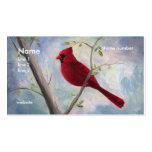 cardinal, business card
