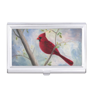 Cardinal Business Card Holder