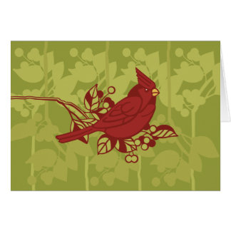 Cardinal Card