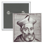 Cardinal Cesare Baronio 15 Cm Square Badge