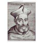 Cardinal Cesare Baronio Greeting Card