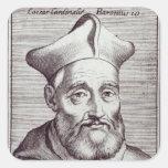 Cardinal Cesare Baronio Square Sticker