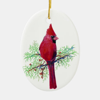 Cardinal Christmas Ornament