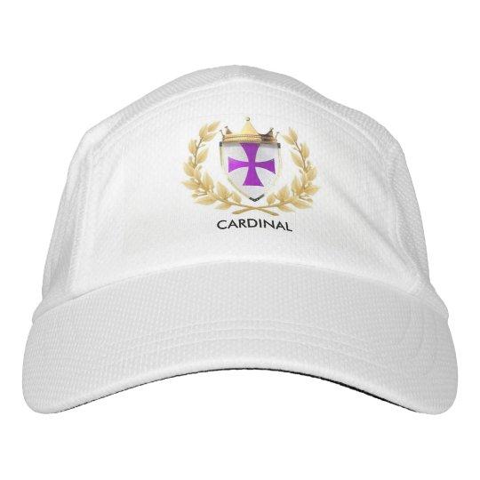 Cardinal EOC white Cap