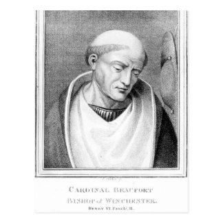 Cardinal Henry Beaufort, Bishop of Winchester Postcard