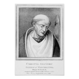 Cardinal Henry Beaufort, Bishop of Winchester Poster