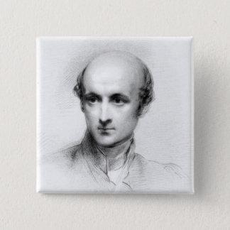 Cardinal Henry Edward Manning 15 Cm Square Badge