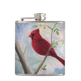 Cardinal Hip Flask
