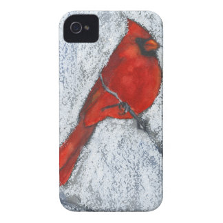 Cardinal in the Snow iPhone 4 Case-Mate Case