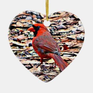Cardinal (Male) Christmas Ornament