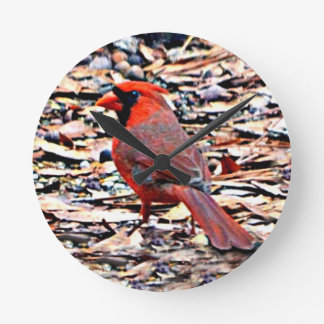 Cardinal (Male) Clocks