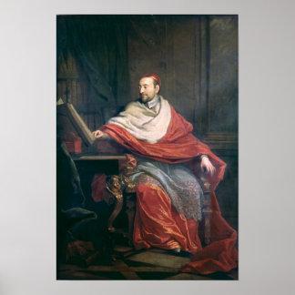Cardinal Pierre de Berulle Poster