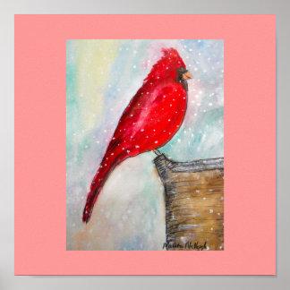 Cardinal-Poster