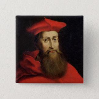 Cardinal Reginald Pole  Archbishop of Canterbury 15 Cm Square Badge