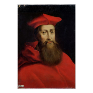 Cardinal Reginald Pole  Archbishop of Canterbury Poster