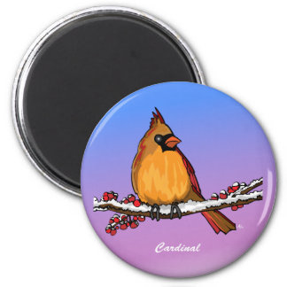 Cardinal rev.2.0 Buttons and Flair 6 Cm Round Magnet