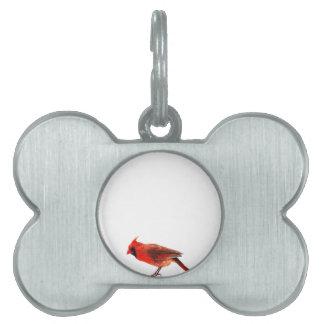 Cardinal(s) Pet ID Tag