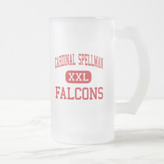 Cardinal Spellman - Falcons - High - Bronx Frosted Glass Beer Mug