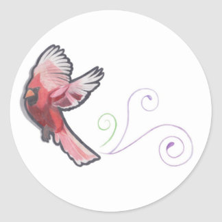 Cardinal stickers