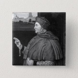 Cardinal Thomas Wolsey 15 Cm Square Badge