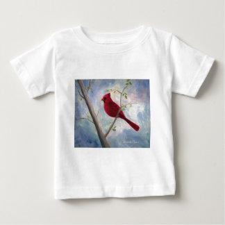 cardinal toddler christmas tshirt
