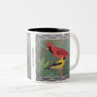 Cardinal Two-Tone Coffee Mug