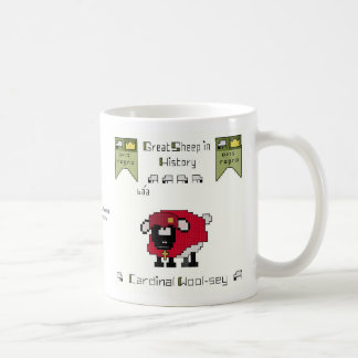 Cardinal Wool-sey Coffee Mug