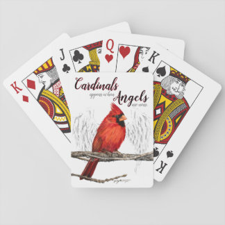 Cardinals Appear Angels Are Near Playing Cards