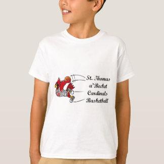 Cardinals basketball script children's t-shirt