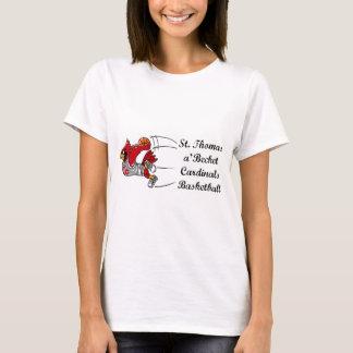 Cardinals basketball script women's t-shirt