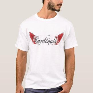 Cardinals Black Wings T T-Shirt