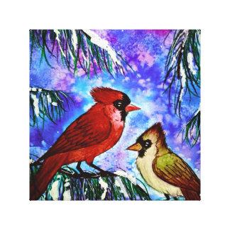 Cardinals canvas
