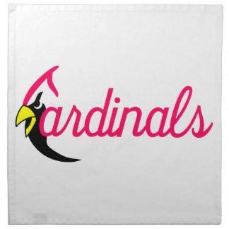 Cardinals Printed Napkins