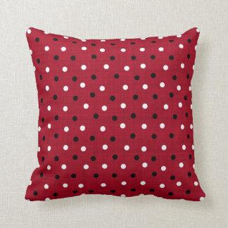 Cardinals Colors Dot Pattern Pillows