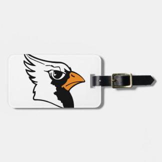 Cardinals Mascot Tag For Bags