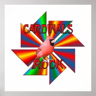 Cardinals Rock Poster