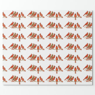"""""""Cardinals"""" Wrapping Paper"""