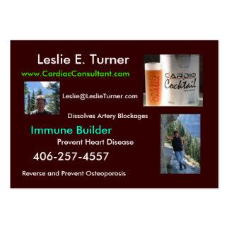 Cardio Cocktail - Healthy Heart Business Card
